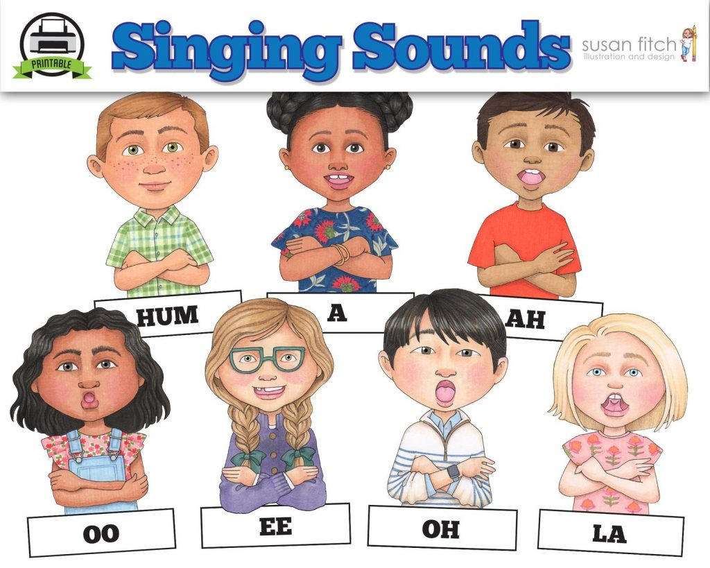 Camille's Primary Ideas: Singing Sounds Susan Fitch Kit
