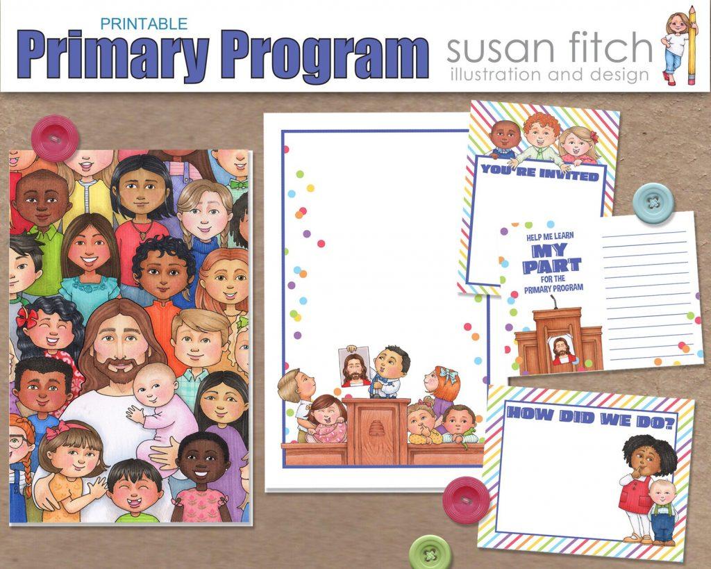 Susan Fitch Primary Program 2021