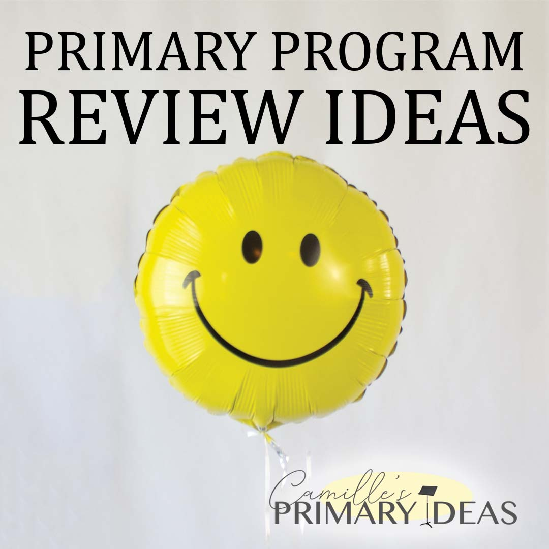 Camille's Primary Ideas: Primary Program Review Ideas