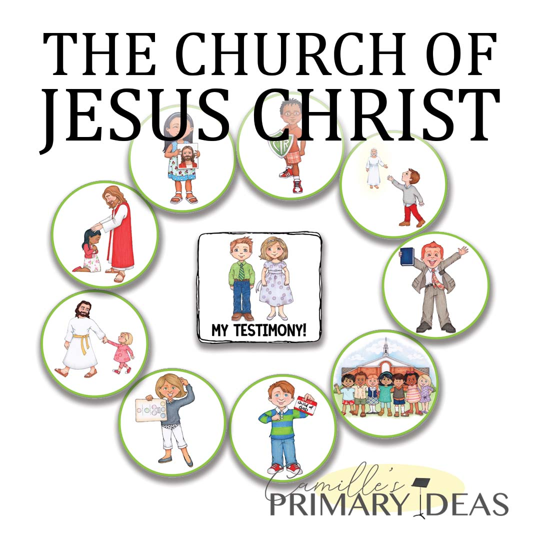 Camille's Primary Ideas: The Church of Jesus Christ singing time idea
